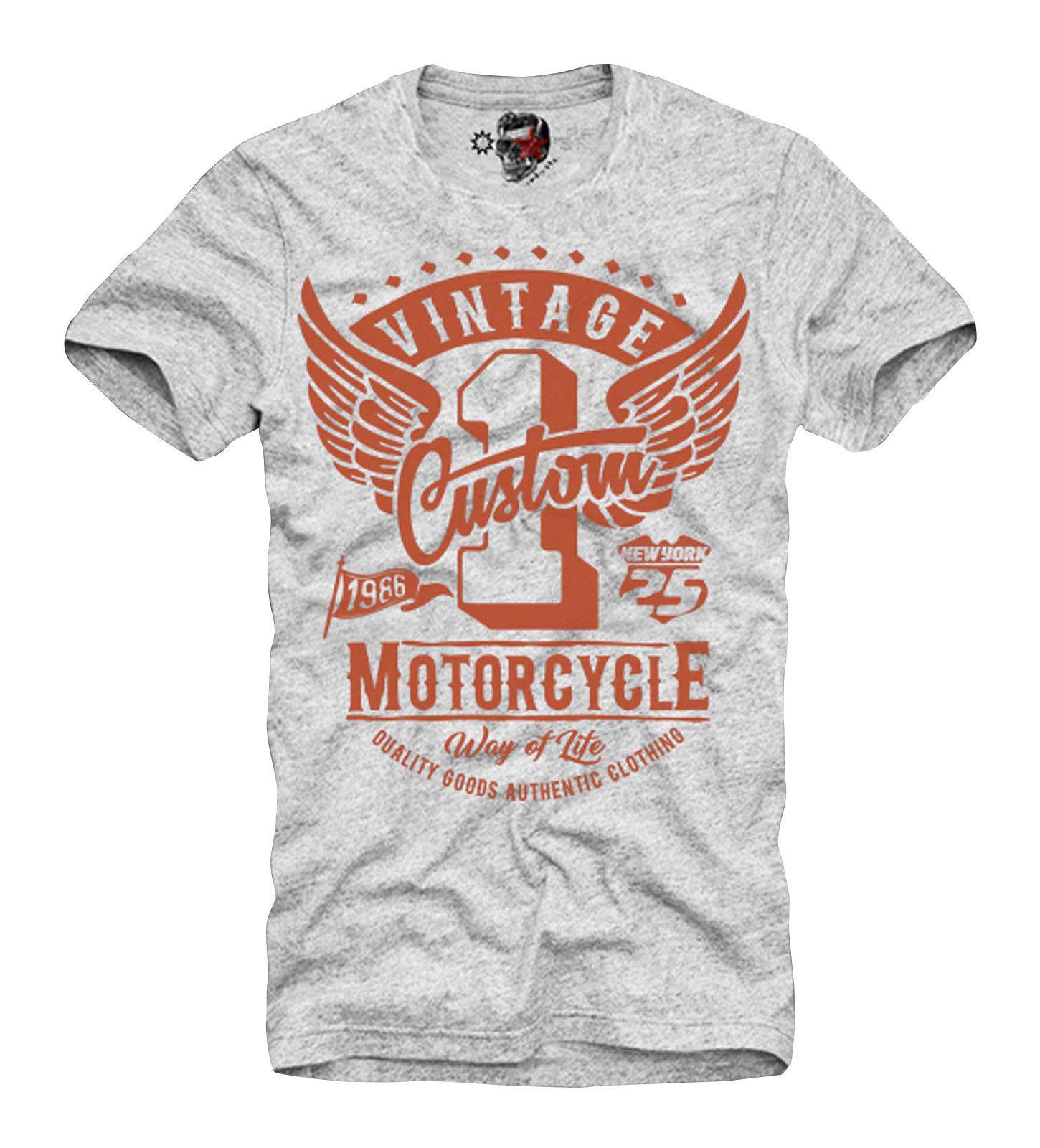 0495972ec54549 E1SYNDICATE T SHIRT MOTOCROSS Top Tee MOTORRAD BIKE DUCATI CAFE RACER 3414G  Buy Online T Shirts Make Tee Shirts From Dunsechy