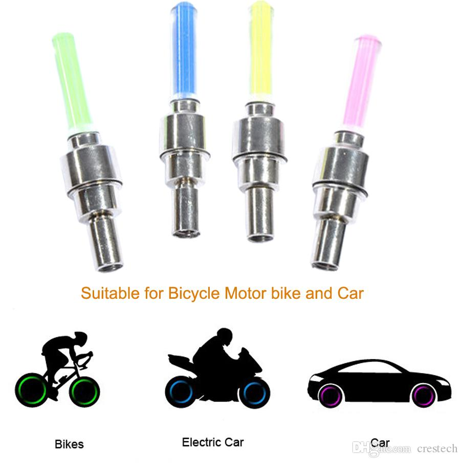 LED Multi-color Wheel Lights - Safety Visibility, Waterproof, Motion-sensitive Automatic Color-changing L.E.D.s 100% Guaranteed if you purch