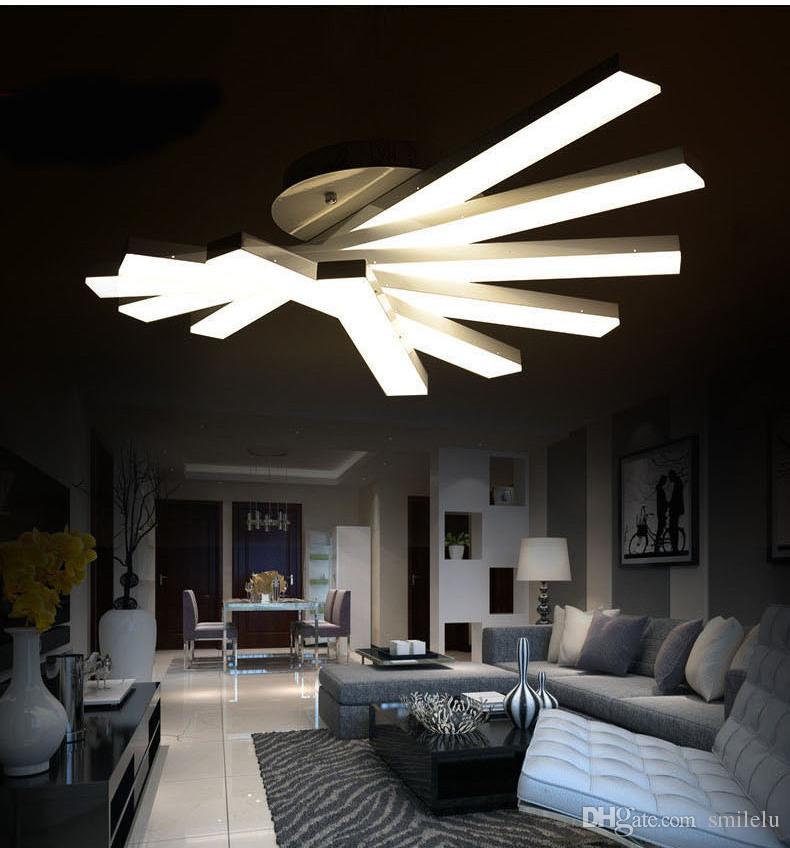 Attraktiv 2018 Creative Modern Minimalist Led Ceiling Lights For Living Room Bedroom  Deckenleuchten Led Ceiling Fixtures Abajur Led Ceiling Lamp From Smilelu,  ...