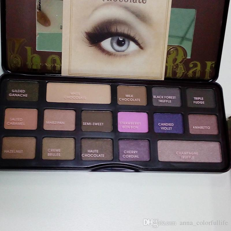 Face Makeup Palette Cocoa Eye Shadow Choaoclate Bar Eyeshadow