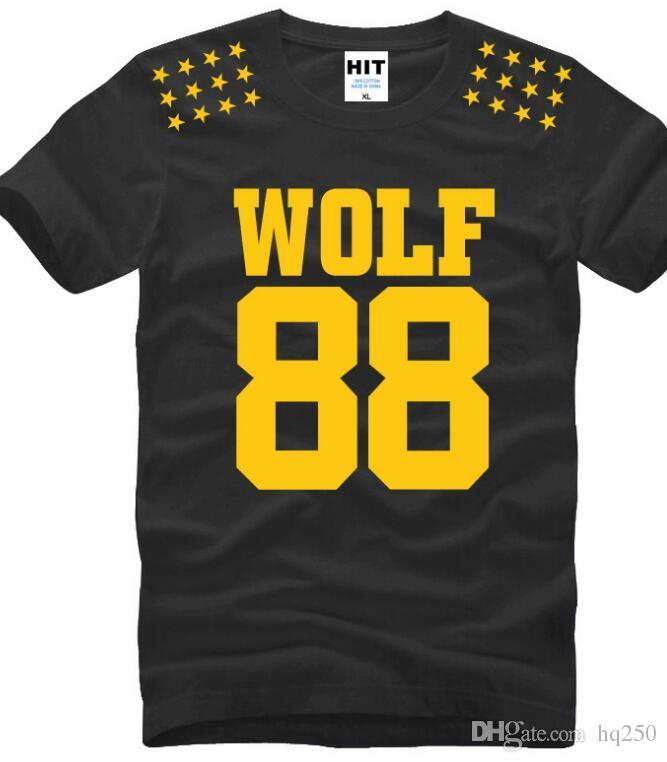 Großhandel Chinesische Größe S Xxxl Wolf88 Wolf 88 T Shirt Fünf