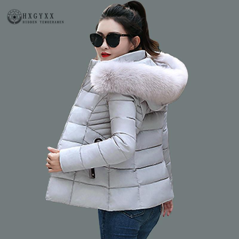 4f176dab43f 2019 Fur Fashion Hooded Military Parka Female Plus Size Warm Puffer Jacket  Women Winter Coat Ladies Slim Short Outwear 2018 Okd355 S18101504 From  Xingyan01