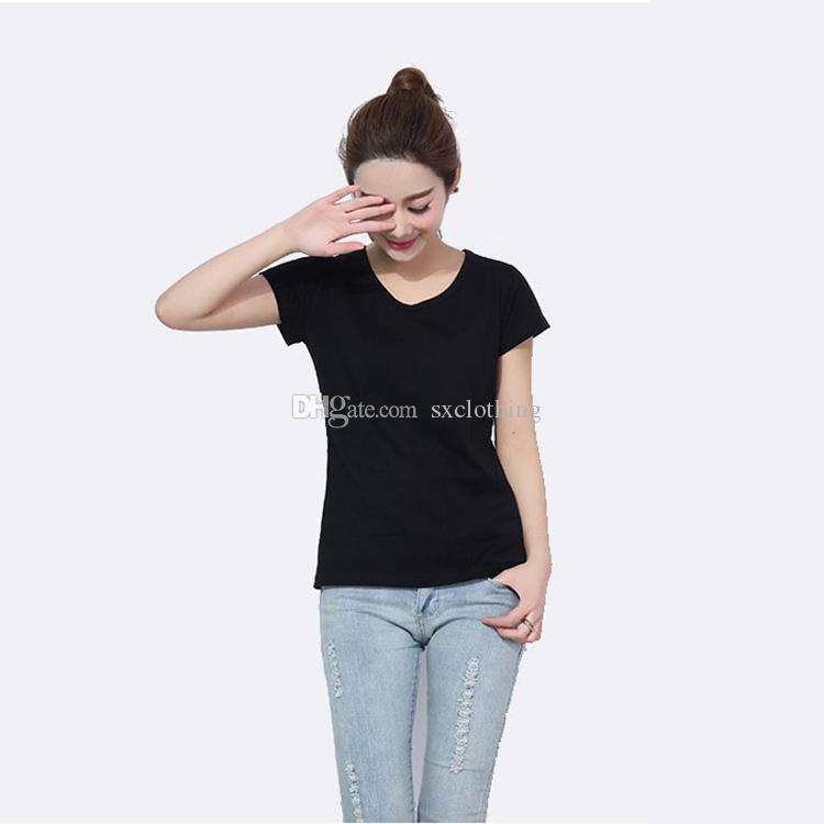 faec10ee2cf Made in China High Quality Short Sleeve Women Ladies T Shirt 100 ...
