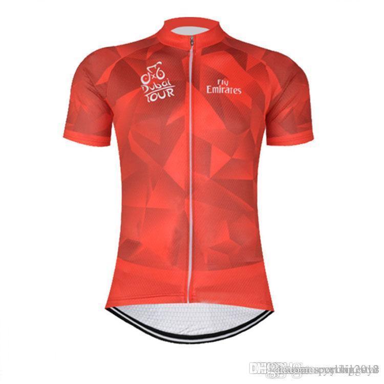 2017 Dubai Pro Team Men s Cycling Jersey Cycling Clothing Mountain ... 8cad2e1a1
