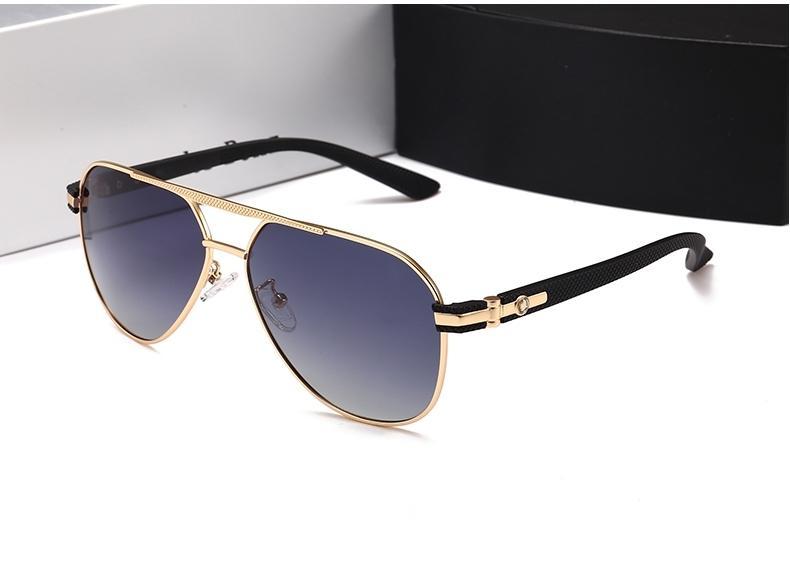 0fccd6b51 Full Metal Frames High Quality Sunglasses Men Women Brand Designer UV400 Glasses  Polarized Sun Glasses Fashion Shades Classic Pilot Sunglass Prescription ...