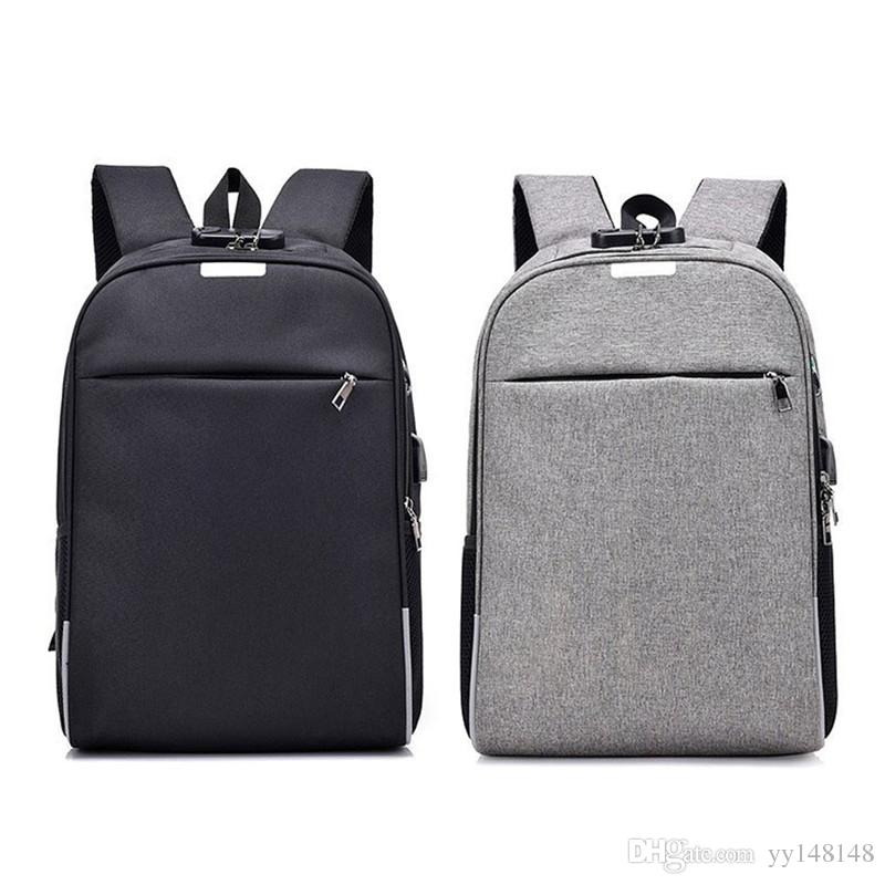d449749f878e 2019 Laptop Backpack Travel Bag Anti Theft Smart Usb Charging Backpack  College Bag For College Travel Backpack Multi Function Business Computer B  From ...