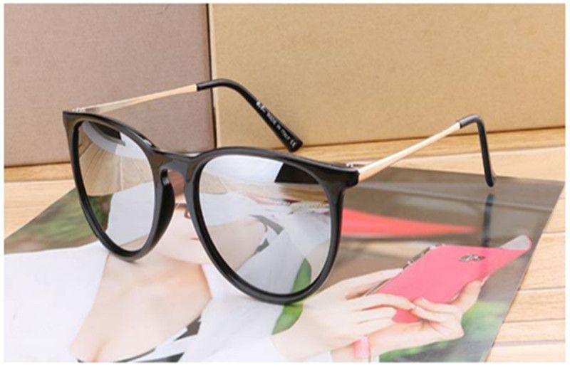 Erkekler Kadınlar için lüks Tasarımcı Yaz Güneş Gözlüğü Erkek Sürüş gözlük Yansıtıcı Kaplama Gözlük Kedi Göz Güneş gözlükleri