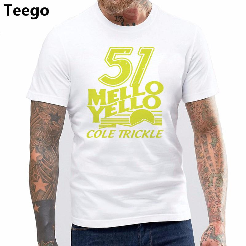 878fd674b Compre Camiseta Estampada 100% Algodón Con Cuello En O 51 Camiseta Mello  Yello Cole Camiseta Thunders Day A  13.2 Del Qqyes123