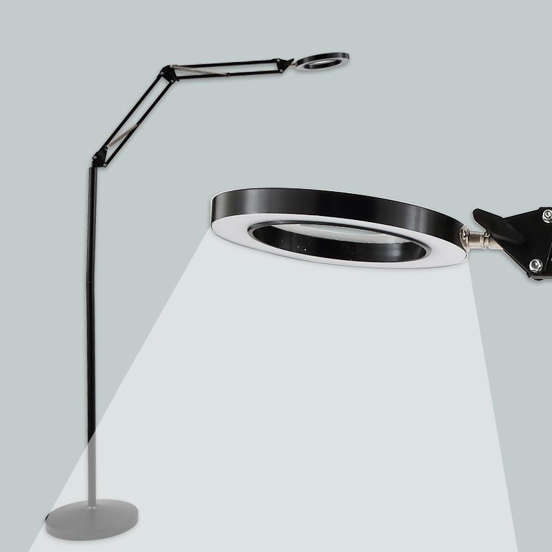 2019 8x Magnifying Lamp Led Magnifying Floor Light