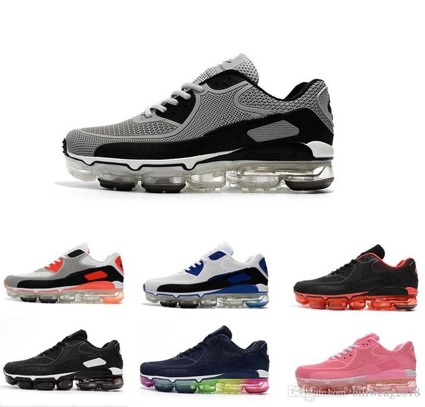 cheap sale clearance store hot sale sale online 2018 new release 90 TPU vapormax for mans womens sports shoes black white green gray red pink blue leather best running shoes sale 100% original visa payment cheap online u4sCcny