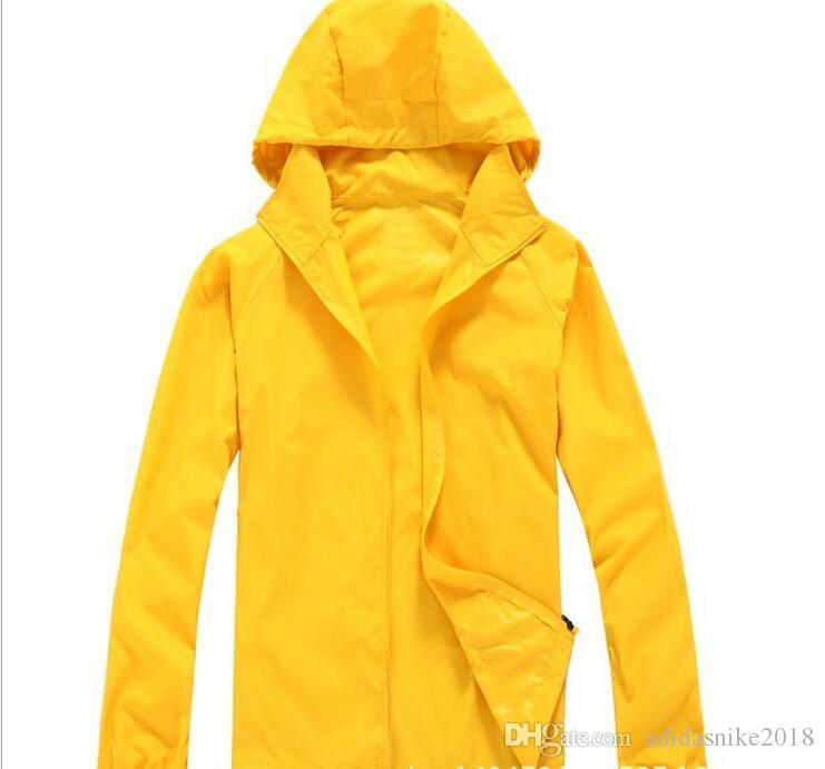 2018 2019 Outdoor Sports Coats Skin Male Female Windbreaker Men Women Quick  Dry Hiking Jackets Waterproof Sun Protective Cheap Mens Jackets Coat Man  From ... 2d4ae6c51fb