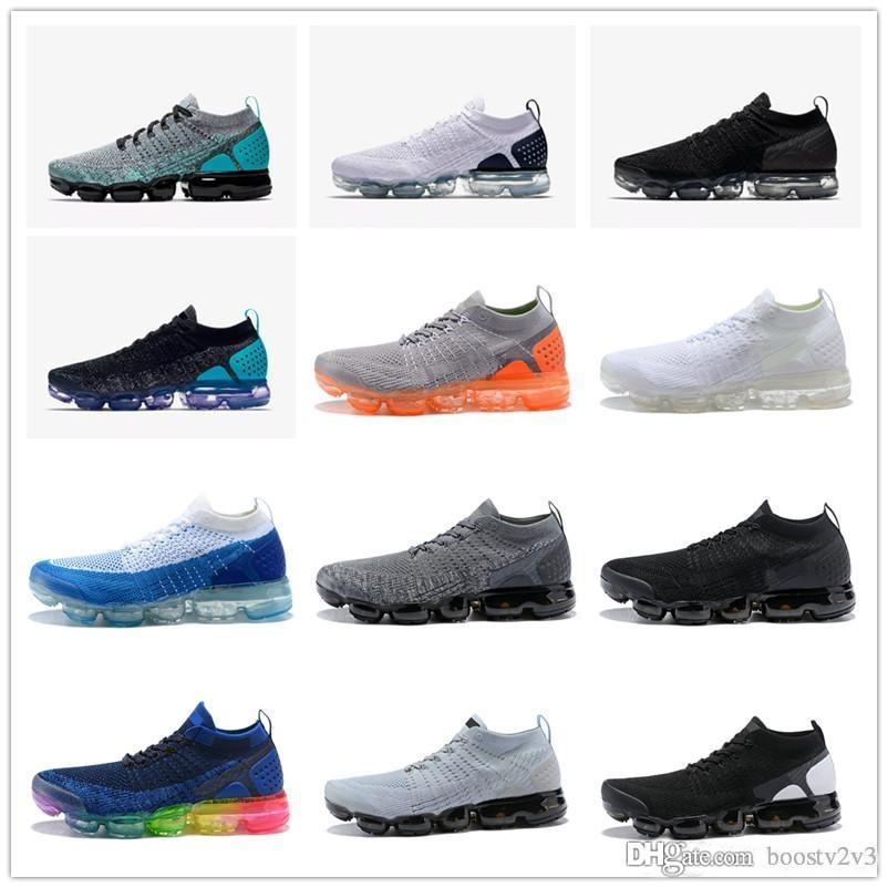 c038050092cb3 New 2017 2.0 Flagship Shoes Men Women White Black Pink Knitting Trainers V2  Fashion Designer Sneakers 2 Running Shoes Shoes Online with  84.85 Pair on  ...