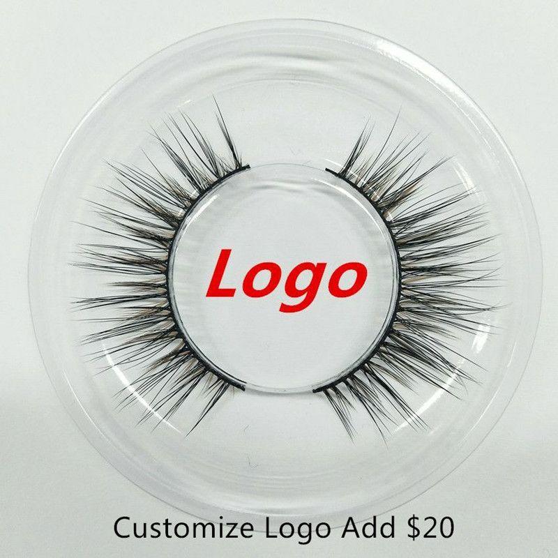 8 Estilos SEASHINE 50 Pares / set OEMPrivate Logo Aceitável 3D Real Mink Cabelo Cílios Messy Eye cílios Extensão Sexy Full Strip Pestana