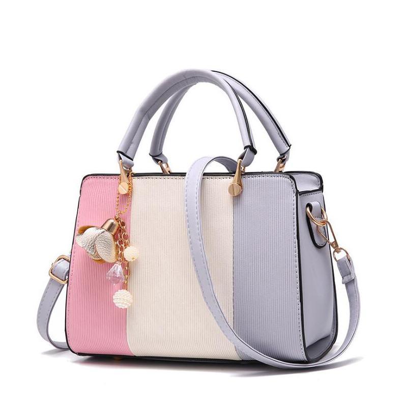 Women's Bags 2018 Fashion Women Pendant Totes Handbag Party Purse Ladies Messenger Crossbody Shoulder Bags Pu Girls Top-handle Bag Free Ship