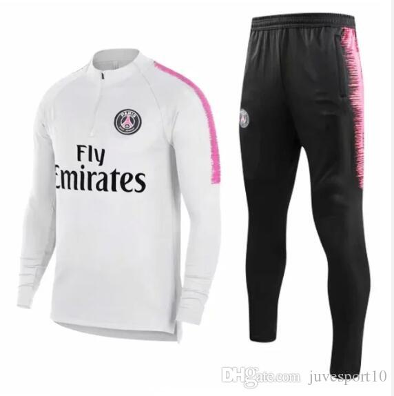 355cdf660 New MBAPPE CAVANI Training Suit Soccer Jerseys Kit 2018 2019 Maillot ...
