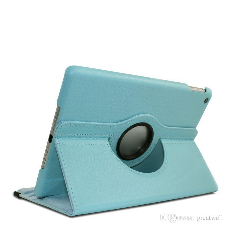 360 Degree Rotary Stand PU Leather Cover Cases For ipad Mini 123/4 234 Air 5 6 New ipad 2017 10.2 Pro 10.5