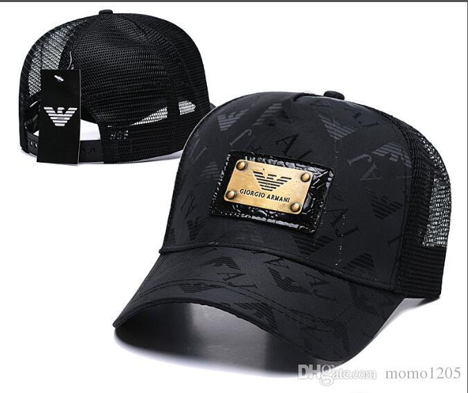 b8bf138b 2019 New Fashion AX Cap Mesh Baseball Cap Men Women Long Brim ...