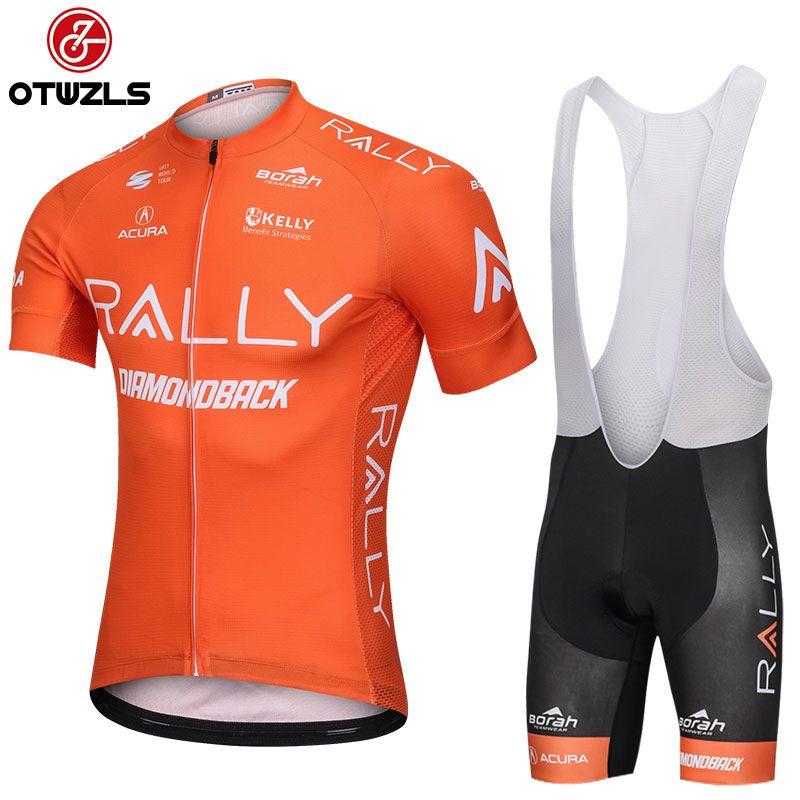 2018 Cycling Jersey Set Men Summer Breathable Short Sleeve Cycling ... b225f4de5