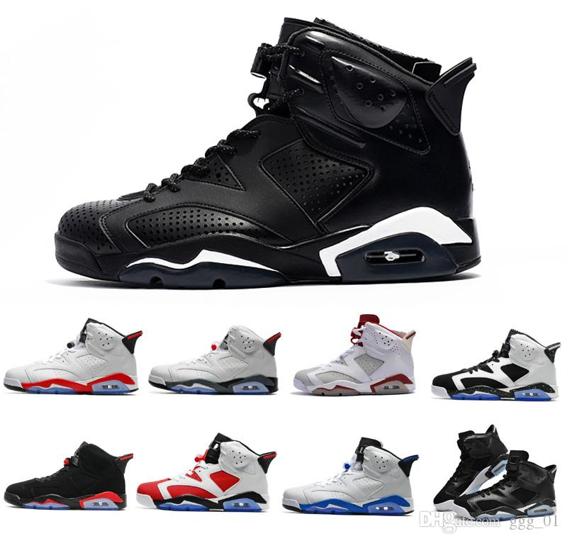 0812ddf4e9 Compre 2018 Moda J6 Para Hombres Carmine Infrared Zapatos Alternativos De  Baloncesto Classics 6 VI Botas Deportivas De Aire Para Hombres US7 13 A  $91.34 Del ...