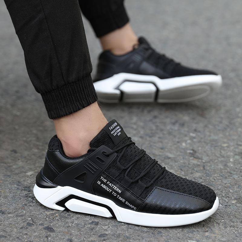 aa8370448cb0c Popular 2018 Latest Shelves Fashion Breathable High Quality Men S Shoes  Sneakers Adult Comfortable Casual Shoes Size 39 46 Deck Shoes Mens Boat  Shoes From ...