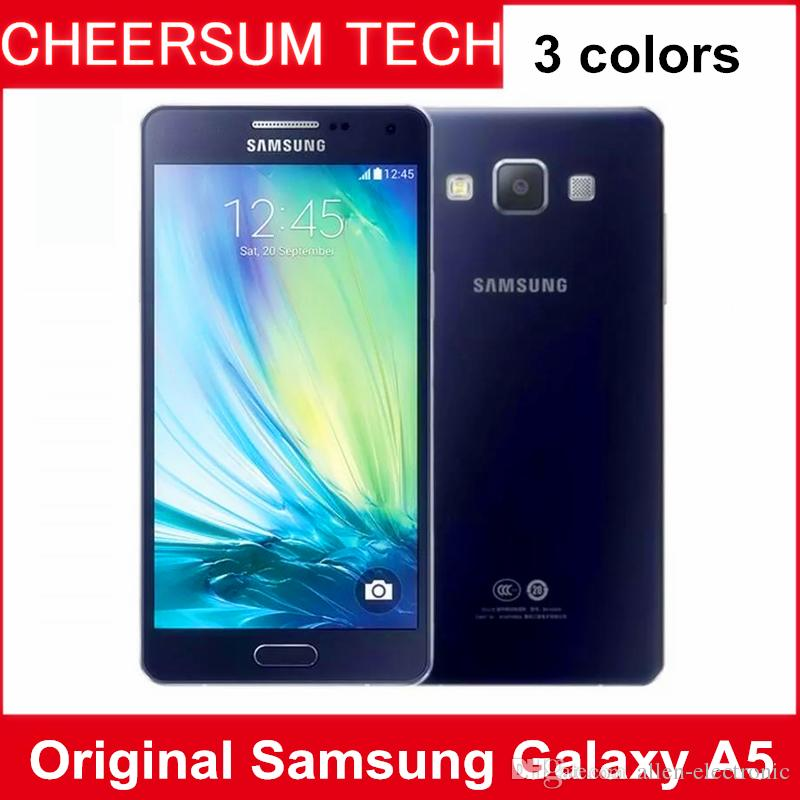 Original Samsung Galaxy A5 Mobile Phone 2GB RAM 16GB ROM 5 inch 4G LTE Octa Core 13MP Camera Android refurbished cellphone