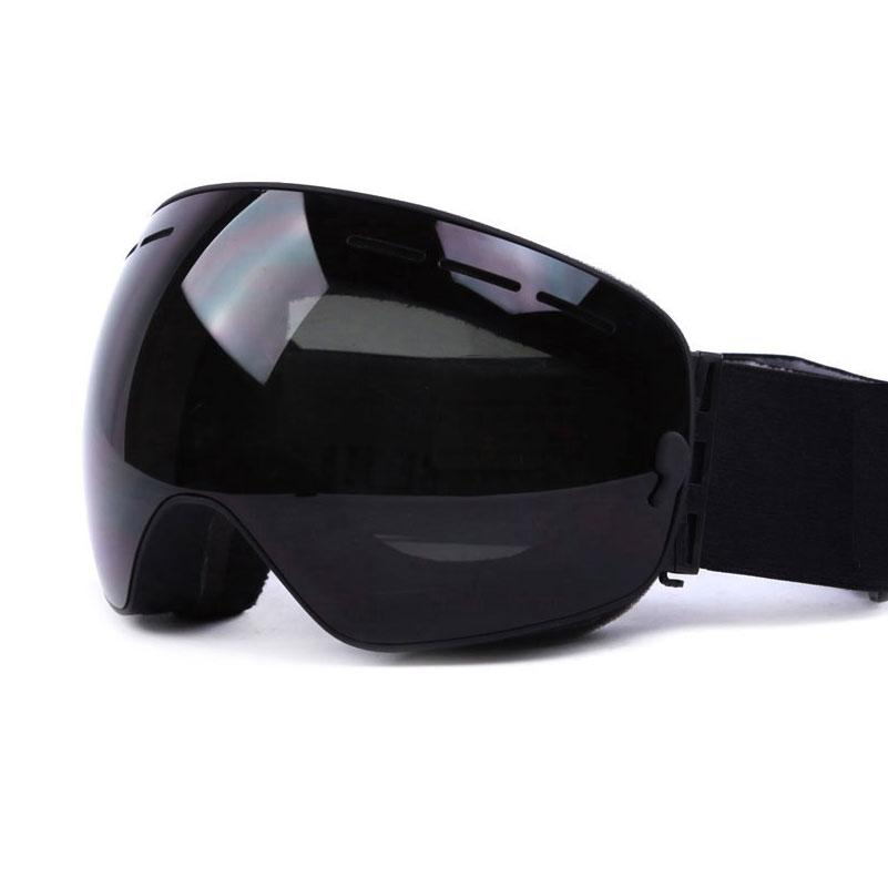 UV400 Anti-fog Double Layers Ski Goggles Big Lens Skiing Mask Glasses Snow Snowboard Eyewear Mirror Coating Goggles for Men