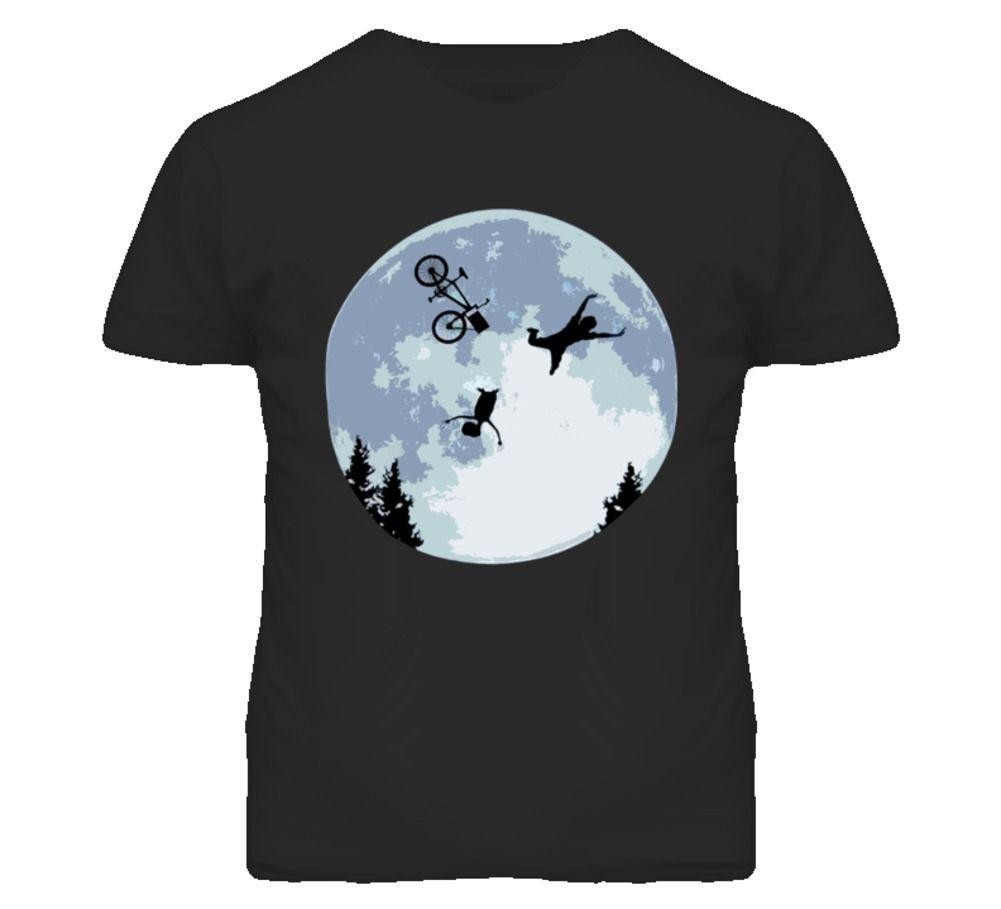 788b541c Et Funny Falling Bicycle T Shirt Streetwear Funny Print Clothing Hip Tope  Mans T Shirt Tops Tees T Shirt Funny Men T Shirt Quotes Mens Dress Shirt  From ...