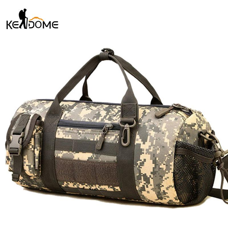 Outdoor Sports Army Gym Bags for Women Men Fitness Camouflage ... 46daf1ec4e226