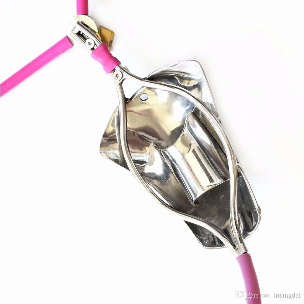 Compre 2018 Súper Invisible Macho Estilo T Ajustable Dispositivo De Cinturón  De Castidad De Acero Inoxidable Con Cock Cage Pene Ring Bondage Adulto  Bondage ... e6232de5bd4