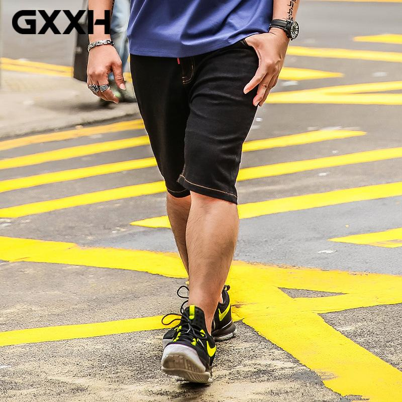 cd027804031 GxxH Tide Brand Large Size Men s Shorts Loose Casual Fat Plus ...