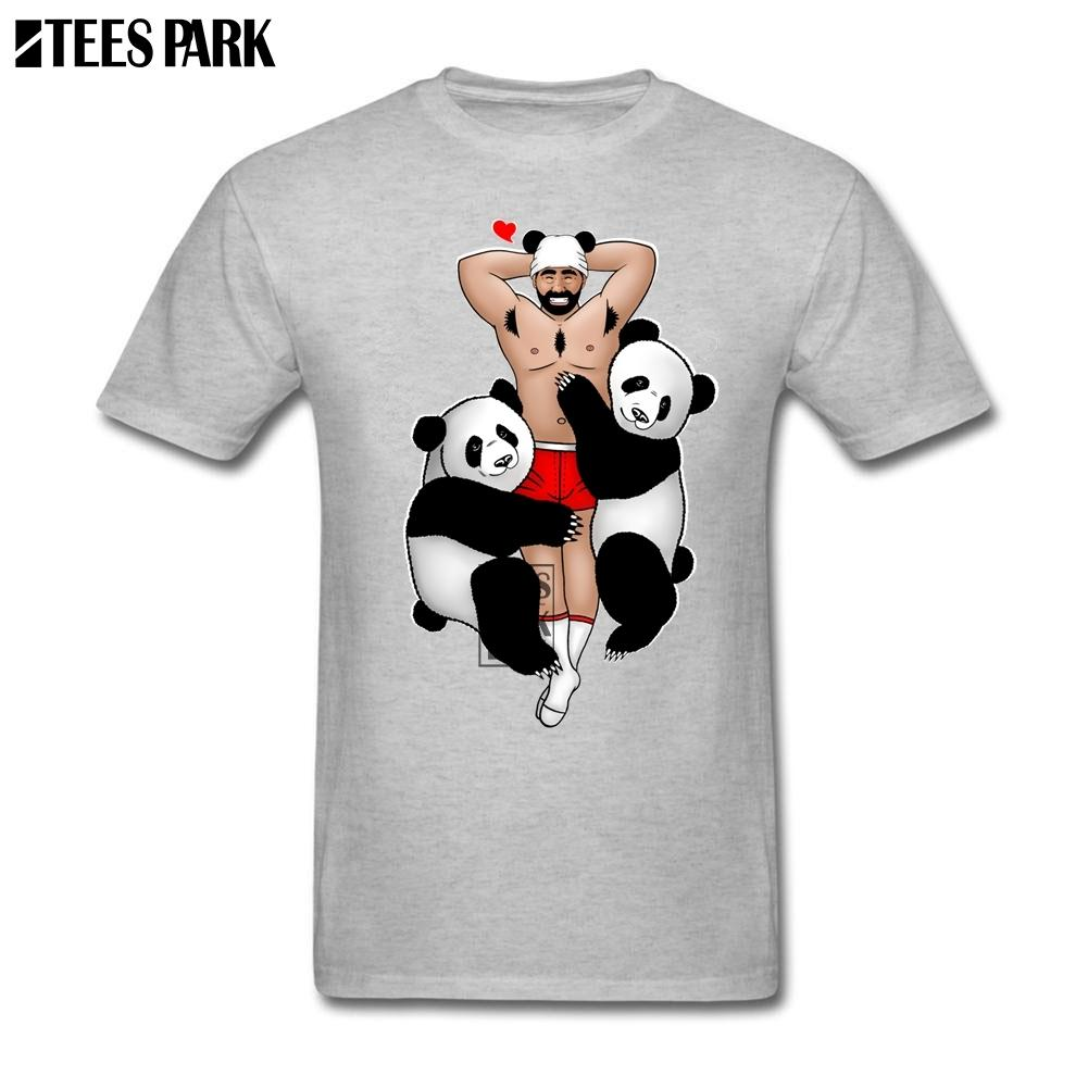 Cool Shirts For Guys Panda Lover Gay Shirt Moda Magliette Estate Top Stampa Uomo T Shirt Logo Più recenti 2018 Uomini Top