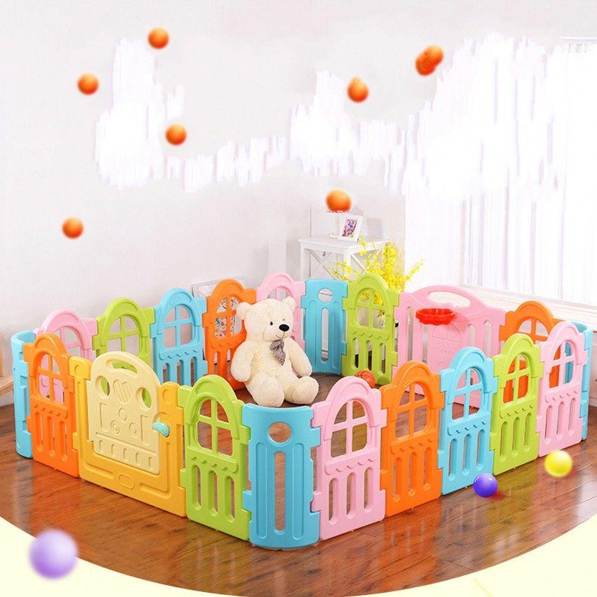 New Design Indoor Baby Playpens Child Toddler Activity Game Space ...