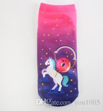 Printing cartoon animals Invisible Casual Socks emoji expression sock multis models for women and men