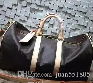 bfc32555b7dc Keepall Travel Luggage Bag Damier Graphite PU Leather Handbag Men ...