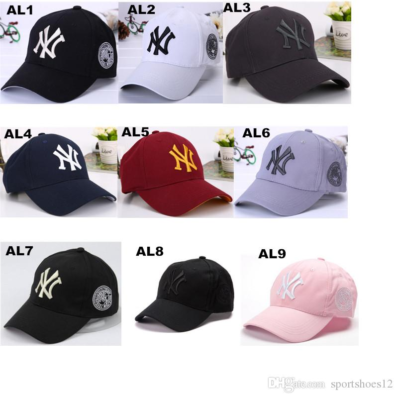 04e7dd2e998 New NY Letter Hats Hip Hop Baseball Cap Adjustable Snapback Cap For Women  And Men More Colors Accept   Drop Shipping Baseball Cap Flat Cap From  Sportshoes12 ...