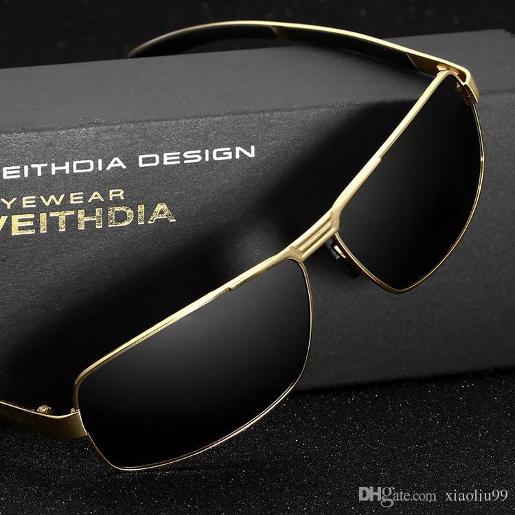 c428b8bb26 New VEITHDIA Aluminum Magnesium Men s Sunglasses Polarized Coating ...