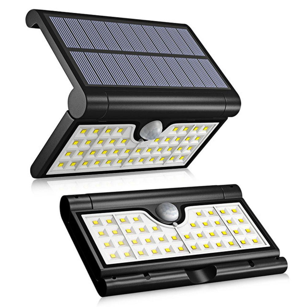 eclairage led solaire Acheter 42 LED Solaire Lumière 2W PIR Capteur De Mouvement Mur Lumière LED  Éclairage Solaire De Sécurité Solaire Lampe De Sécurité Extérieure Étanche  ...