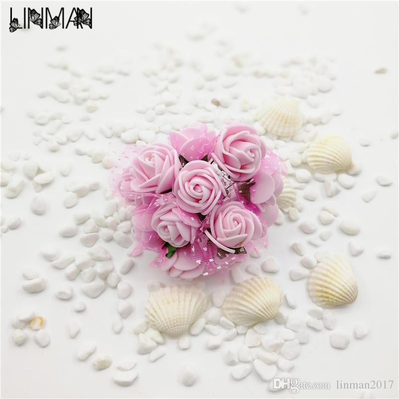 Ful paper flowers artificial flower 144 head mini rose home decor ful paper flowers artificial flower 144 head mini rose home decor for wedding small roses bouquet decoration from linman2017 381 dhgate mightylinksfo