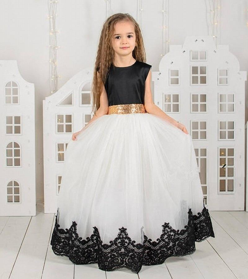 Charming Special Occasion Dress Pincess Pageant Flower Girl Dresses Wedding Party Dress Kids Prom Gown Children Dress Gha24