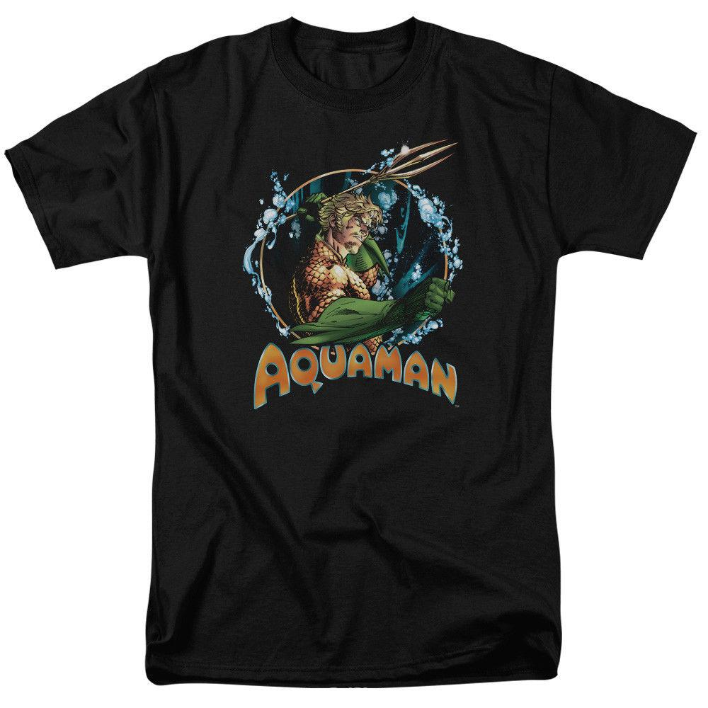 Aquaman Ruler Of The Seas DC Comics Licensed Adult T Shirt Cool Casual pride t shirt men Unisex Fashion tshirt