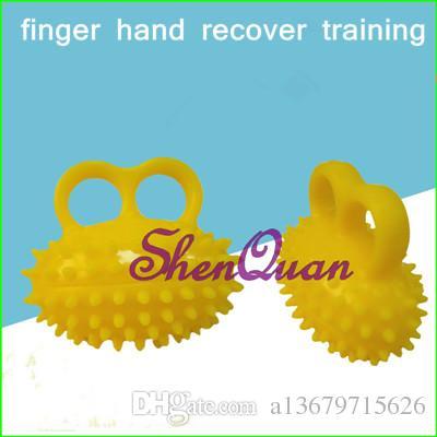 e0f1fe38b2852 finger exerciser ball hand exerciser grip strength training equipment for  hand strengthener physical therapy,finger hand recover training