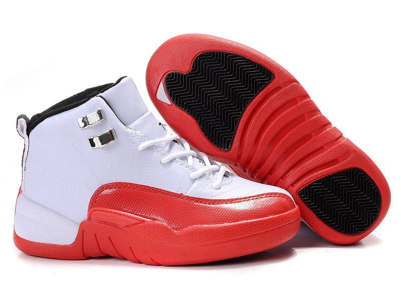 Garçons Filles 12 12s Enfants Basketball Chaussures Enfant 12s Gym Rouge Rose Et Blanc Pourpre Français Bleu Enfant En Bas Âge Cadeau