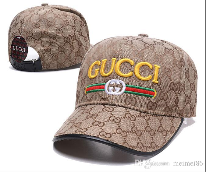 ceff60afc8e 2019 Designer Mens Baseball Caps New Brand Tiger Head Hats Gold Embroidered  Bone Men Women Casquette Sun Hat Gorras Sports Cap Drop Shipping Cheap  Snapback ...
