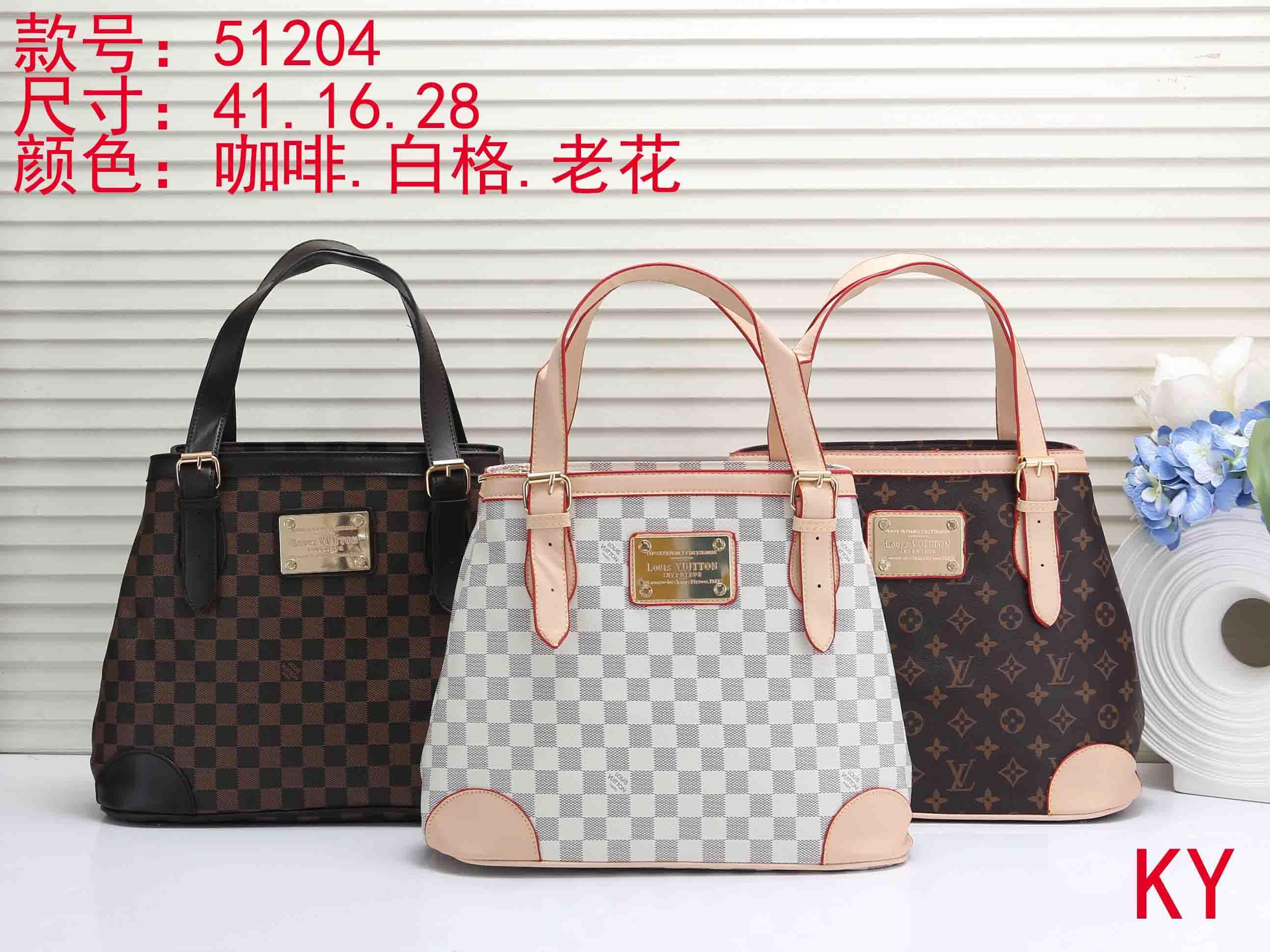 Brand New 2019 Women Handbags Pu Leather High Quality Letter Female Bag  Designer Bolsos Mujer Sac A Main Totes L51204 Mens Work Bags Briefcases For  Women ... 4e4f3cbf0f370