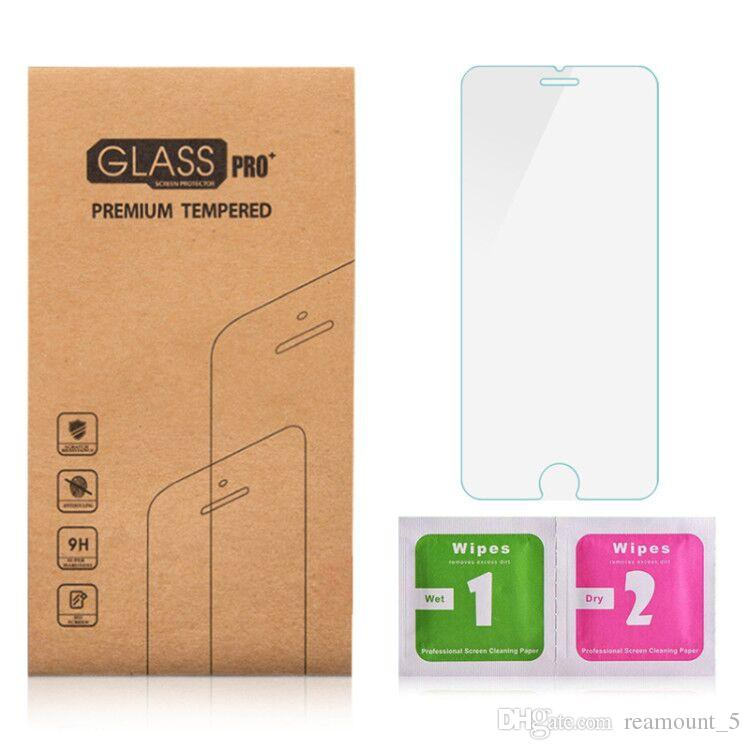Screen Protector for Samsung S7 Tempered Glass Protector with Kraft Box with Wipes for S7 Edge