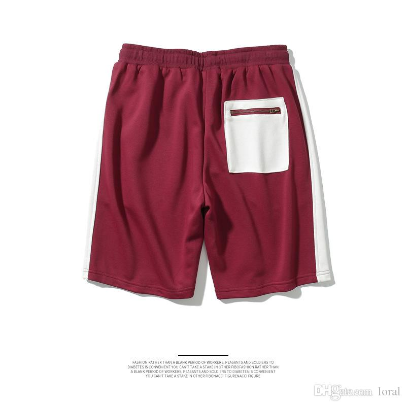 6d7348ed 2019 Hip Hop High Street Skateboard Men Shorts Casual Summer Beach Board  Short Athletic Panelled Shorts From Loral, $35.03 | DHgate.Com