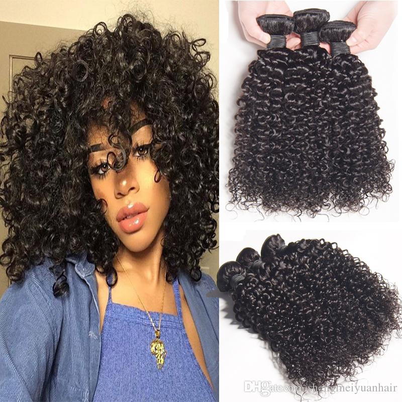Brazilian Curly Hair Weave 100 Human Hair Extension Can Mix Bundles