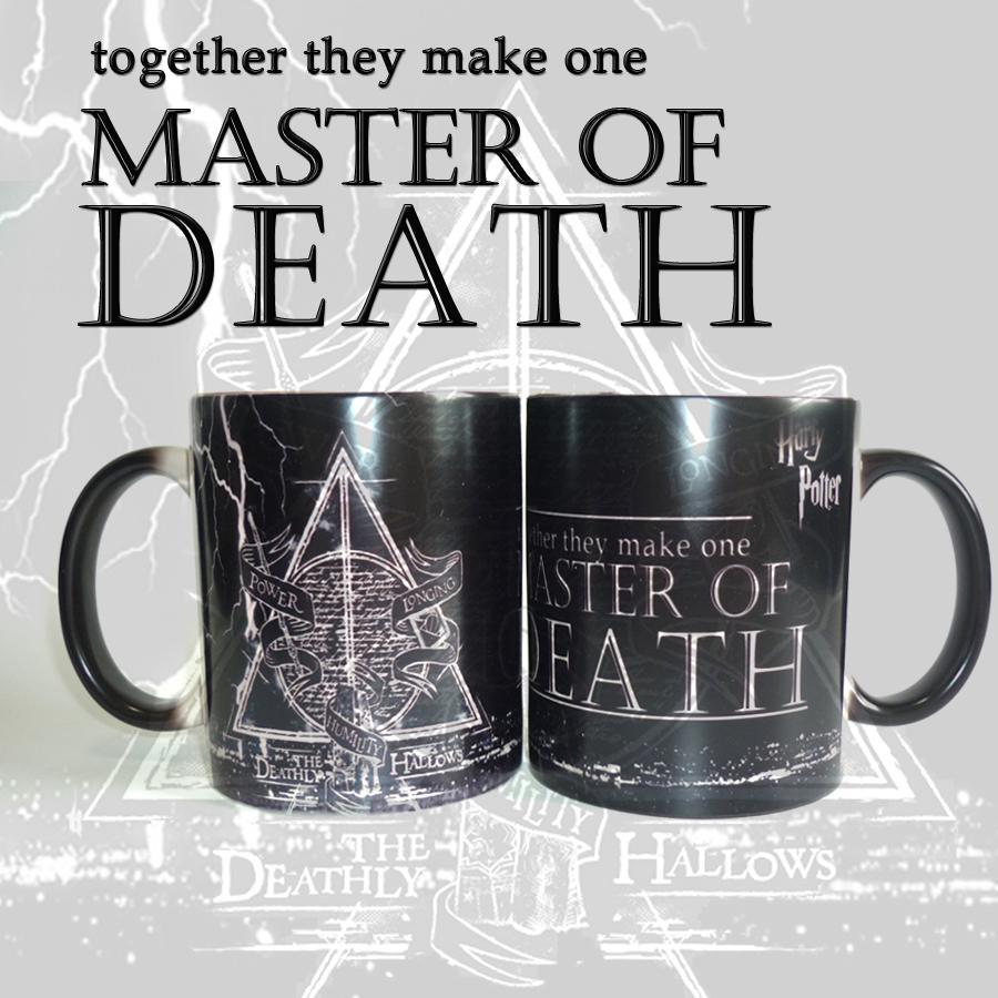 new harry potter magic mugs master of death mugs color changing mug