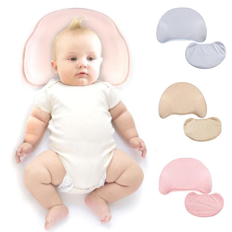 Baby Pillow Infant Head Support Shape Toddler Sleep