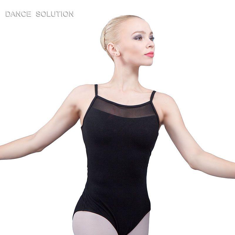 7078566ed Dance Favourite Camisole Mesh Ballet Leotard Women Dancewear ...